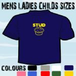 STUD MUFFIN FUNNY MENS ADULT SLOGAN COOL T-SHIRT